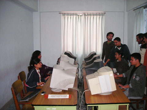 Kathmandu Medical College Internet cafe